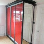 Blood Red Sliding Doors